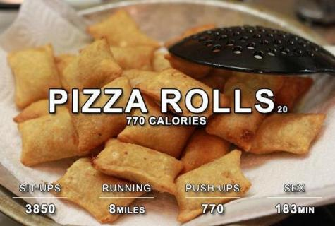 How many calories are burned at run?
