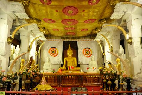 Excursion to the Temple and the museum of Sacred Tooth of Buddha
