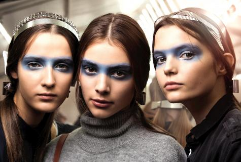 Fashion trends in the field of make-up