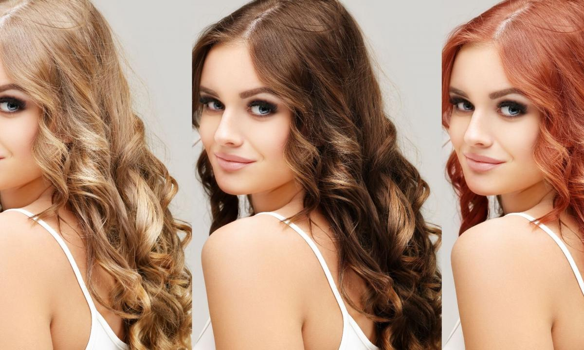 As it is correct to choose hair color to match of eyes