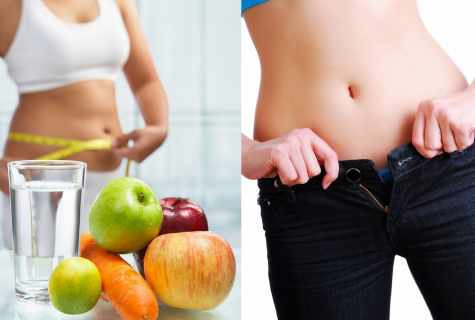 How quickly to gather in the stomach without diets